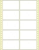 S vodící perforací (tabelační etikety)