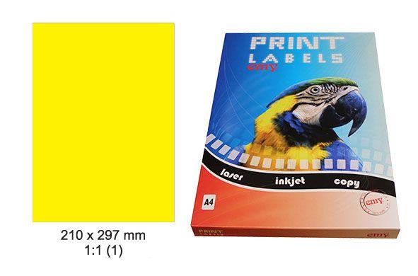 Etikety Print Emy 210x297mm ee20842b519