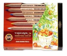 Pastelky 3154N/24 TRIOCOLOR