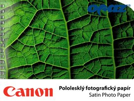 "PLOT Canon Satin Photo Paper   914x30m/240g/36"" 6063B"