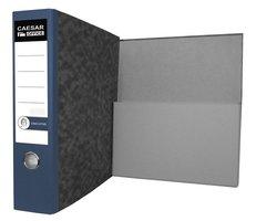 Pořadač archivační A4 Executive, modrý hřbet, 7,5cm, složená kapsa,  104855