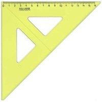 Trojúhelník 45/177 žlutý