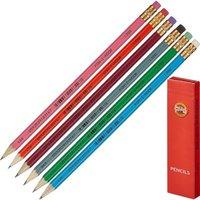 Tužka s gumou 1380 mix barev