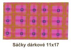 Sáčky dárkové 11x17