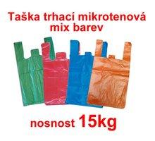 Taška trhací MI 15kg 330x650/100, mix barev
