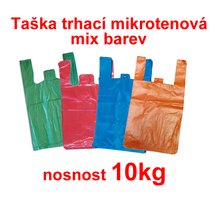 Taška trhací MI 10kg/100, mix barev