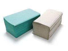 Ručník papírový ZICK-ZACK šedý A 1vrst. 24x25cm 250ks/20bl  040104