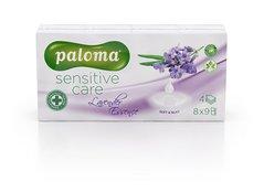 Kapesníčky bílé s vůní PALOMA Lavender Essence soft  4vrst.