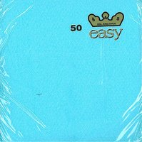 Ubrousky 33x33cm, modré, (50ks/72bl) EASY
