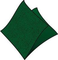 Ubrousky 33x33cm, tmavě zelené, (100ks/12bl) 1vrst, GASTRO  70506