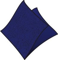 Ubrousky 33x33cm, tmavě modré, (100ks/12bl) 1vrst, GASTRO