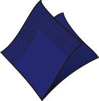 Ubrousky 33x33cm, tmavě modré, (50ks/48bl) 2vrst, GASTRO