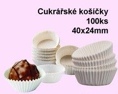 Košíčky cukrářské 4,0x2,4  1000ks            72640