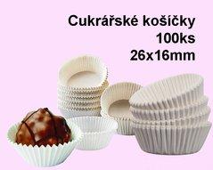 Košíčky cukrářské 2,6x1,6  100ks