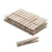 Kolíček dřevěný 36ks