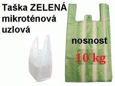 Taška MI  4 kg ZELENÁ pruhy  /25+12x45/2000/100