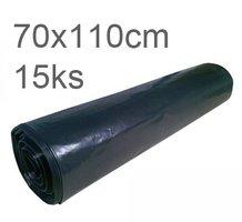 Pytle odpadní 70x110cm/100  černé                       15ks