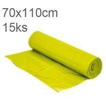 Pytle odpadní 70x110cm/80my žluté                      15ks