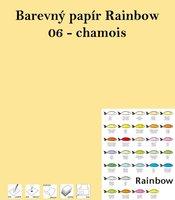 Papír RAINBOW A4/80/500, 06 - chamois,béžová