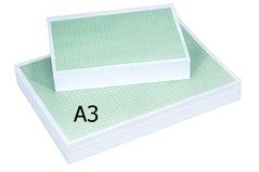Papír milimetrový    A3/80g