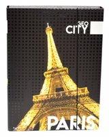 Box na sešity s gumou A4 Jumbo Paris     1-45217