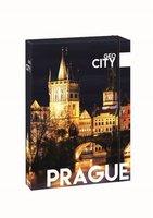 Box na sešity s gumou A4 Jumbo Prague   1-45417