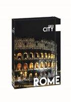 Box na sešity s gumou A4 Jumbo Rome   1-45317