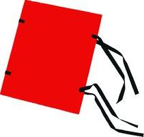 Spisové desky A4 barevné, červené, 1320g, HIT 311.06
