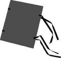 Spisové desky A4 barevné, černé, 1320g, HIT 311.10