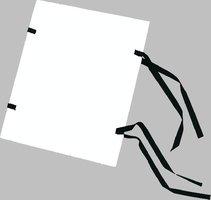 Spisové desky A4 barevné. bílé, 1320g, HIT 311.12