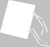Spisové desky A4 Barevné, bílé s režným tkalounem, 30,5x22cm, 1320g, zakázková výroba HIT