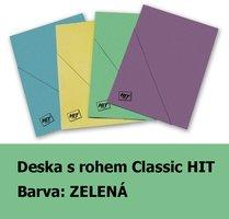 Deska s rohem Classic HIT, zelená, 240g, 1ks/50, 153.02