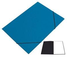 Mapa odkládací 250 s gumičkou PREŠPÁN HIT, tmavě modrá, 350g, 1ks/20, 132.01