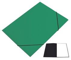 Mapa odkládací 250 s gumičkou PREŠPÁN HIT, tmavě zelená, 350g, 1ks/20, 132.03