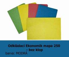 Mapa odkládací 250 Ekonomik HIT, modrá, 200g, 1ks/100, 138.51