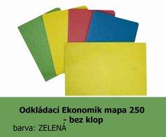 Mapa odkládací 250 Ekonomik HIT, zelená, 200g, 1ks/100, 138.53