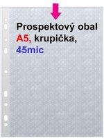 Obal prospektový A5/EURO 45my, krupička, 1ks/100 PH 301