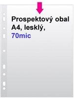 Obal prospektový A4/EURO 70my, čirý, 1ks/100 E80