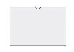 Zakládací obal na doklady U A5 na šířku, 220x160mm, 1ks/50, 352007