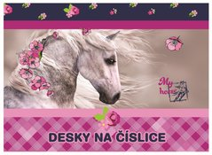 Desky A5 - číslice Kůň        3-97517