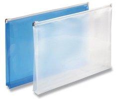 Desky A4 zip,sklad modrá   PP                2-405