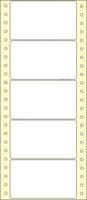 Etikety s vodící perforací,102x59/5000et, 1 - řadé, bílé, úzké, OTK