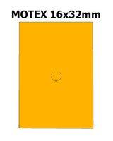 Etikety cenové 16x23mm/54kot (870et) Motex oranžové signální obdélníkové