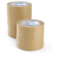 Páska lepící papírová 50mm/50m, hnědá, navlhčovací