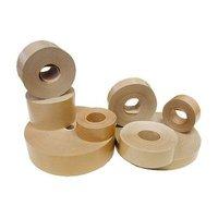 Páska lepící papírová 30mm/200m, hnědá, navlhčovací