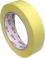 Páska lepící krepová 25mm/50m, krycí