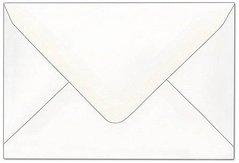 Obálka poštovní C6 114x162mm bílá, vlhčící, šikmá klopa