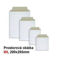 Obálka prostorová B5 HIT, 200x255mm, 1ks/100, 242.00