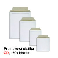 Obálka prostorová na CD HIT, 160x160mm, 1ks/100, 240.
