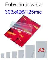 Laminovací fólie Standard A3/125mic, 100ks   303x426